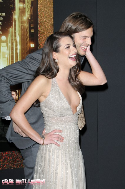 Ashton Kutcher and Lea Michele Hollywood's Latest Hookup?
