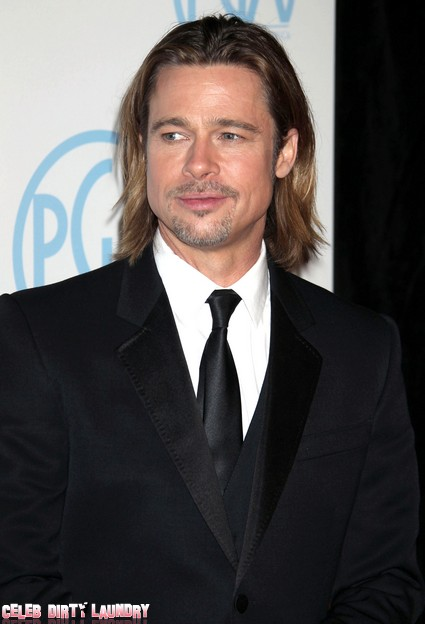 Brad Pitt Worried This Year Won't Be A Success