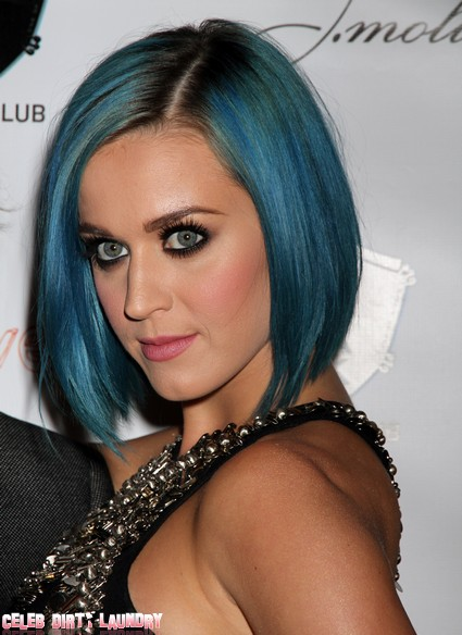 Katy Perry Parties Hard With The New York Giants