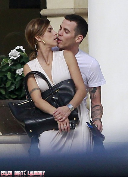 Steve-O And Elisabetta Canalis Kissing Are They Really Dating? (Photo)