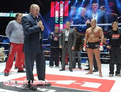 Fedor Emelianenko Wins In Moscow - Putin Booed And Jeered: Video