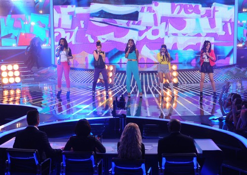 Fifth Harmony Eliminated From The X Factor 12/6/12 (Video)