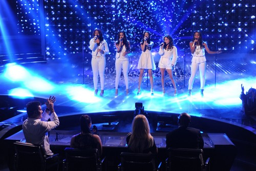 "Fifth Harmony The X Factor ""I'll Stand By You"" Video 11/21/12"
