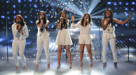 """Fifth Harmony The X Factor """"Anything Can Happen"""" Video 12/12/12"""