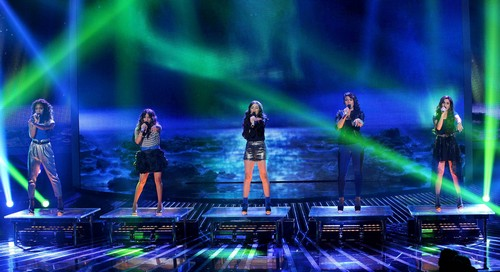 "Fifth Harmony Sings ""Let It Be"" The X Factor 12/19/12 (Video)"