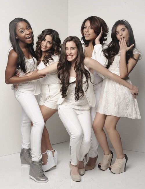 "Fifth Harmony The X Factor ""Give Your Heart a Break"" Video 12/5/12"