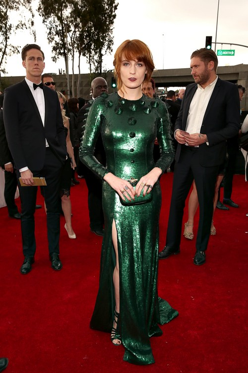 Florence-welch-2013-Grammy-Awards-Red-Carpet-Arrival
