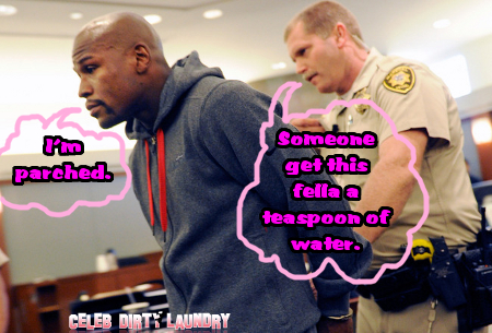 Floyd Mayweather Throws A Hissy Fit in Prison, Demands More Water and Better Food!