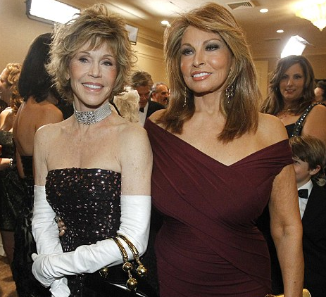 They Say Beauty Is Only Skin Deep - Rachel Welch and Jane Fonda Must Have Deep Skin