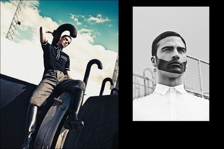 'Freedom' By Leonardo Corredor For Homme Style Magazine
