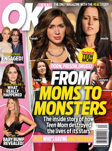 Teen Mom Cancelled: MTV Reality TV Series Ending – OK! Magazine (PHOTO)