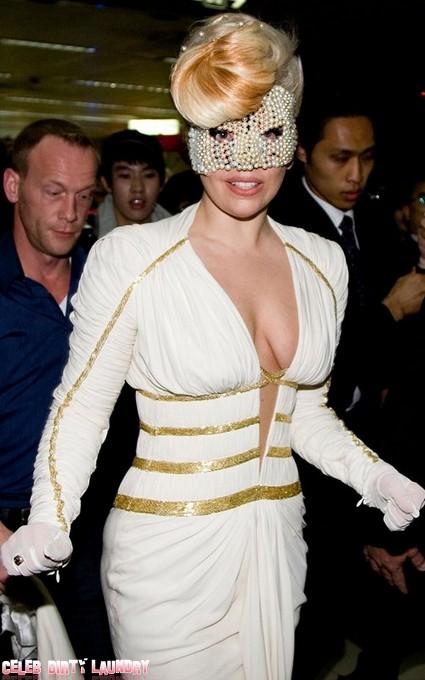 A Masked Lady Gaga Arrives In South Korea To Kick Off World Tour (Photo)