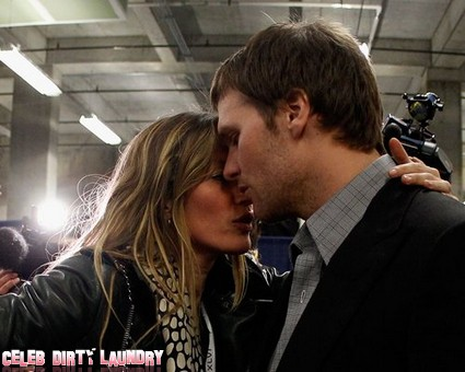Gisele Bundchen Hugs Tom Brady After The Super Bowl (Photo)