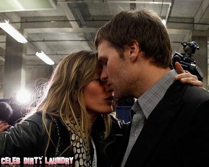 Gisele Bundchen Hugs Tom Brady After The Super Bowl (Photo)