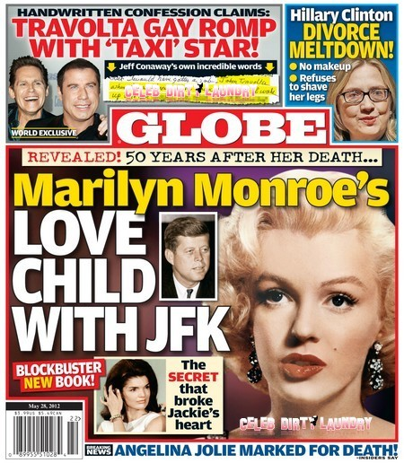 Globe Reveals Marilyn Monroe's Love Child With John F. Kennedy (Photo)