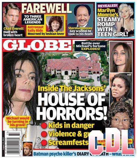 GLOBE: Inside The Jackson Family's House Of Horrors (Photo)
