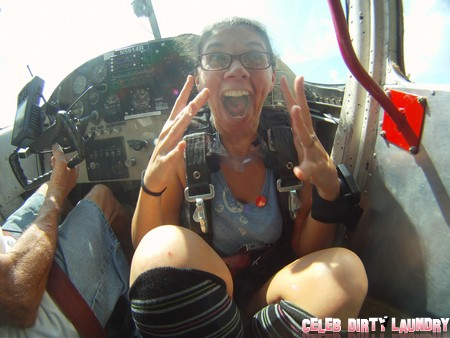 CDL Exclusive: Skydiving - What Happens When a Gossip Blogger Lets Loose (Photos)