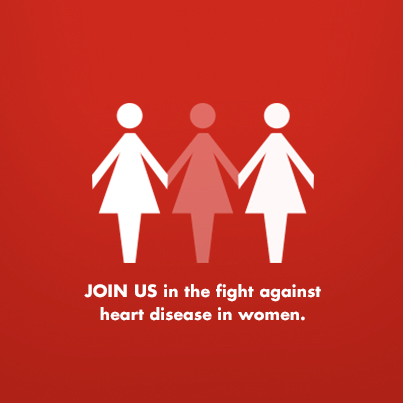 America Goes RED For National Go Red Day: Help Fight Heart Disease In Women - Show Your Support #GoRed