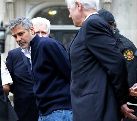 George Clooney Arrested And Taken To Jail (Video)