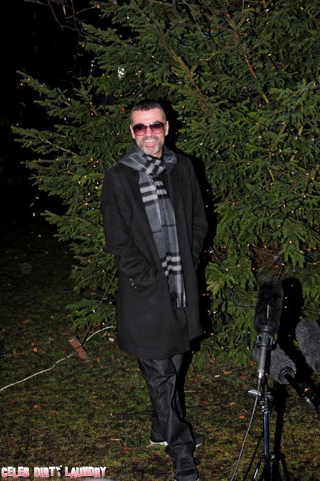 George Michael Lashes Out At Hate Group