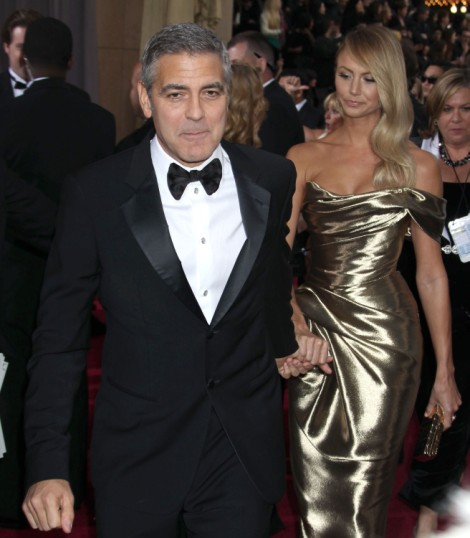 George Clooney And Stacy Keibler Split, She's The Only Person Surprised 0911