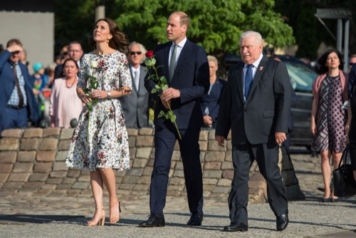 Kate Middleton paid homage to Poland with this dress