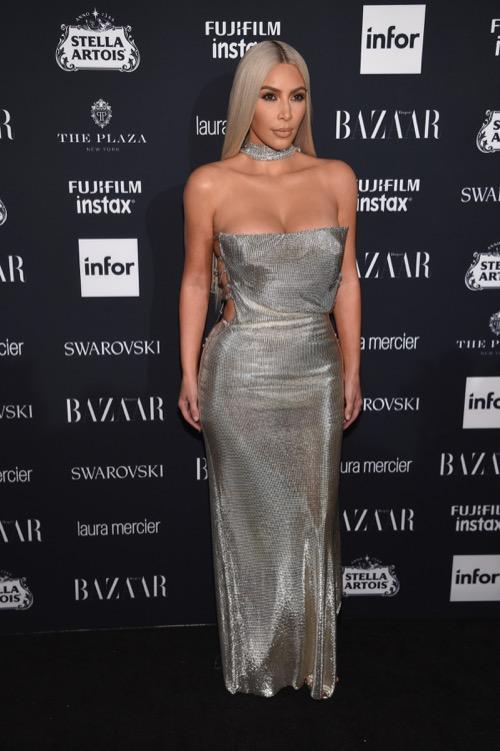 Kim Kardashian Goes Platinum Blonde: Fans Assume She's Gone Under The Knife