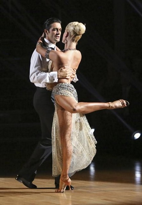 Gilles Marini Dancing With the Stars All-Stars Cha-Cha-Cha Performance Video 10/29/12