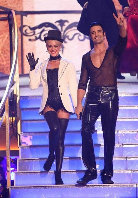 Gilles Marini Dancing With the Stars All-Stars Tango/Samba Fusion Performance Video 11/5/12