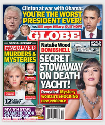 Globe: Explosive New Evidence in Natalie Wood Death (Photo)