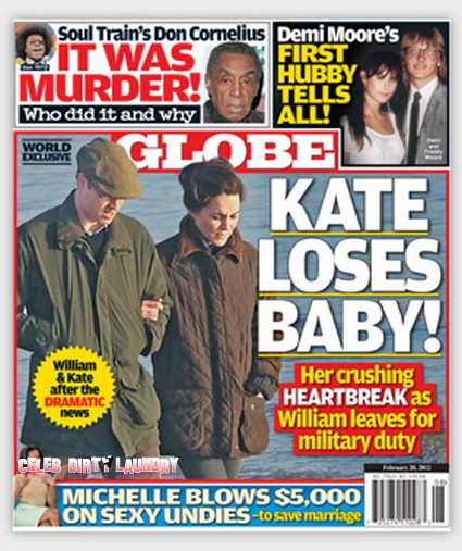 Kate Middleton's Miscarriage Hell (Photo)