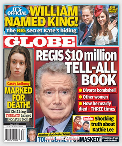Regis Philbin Offered $10 Million For Scandalous Tell All Book