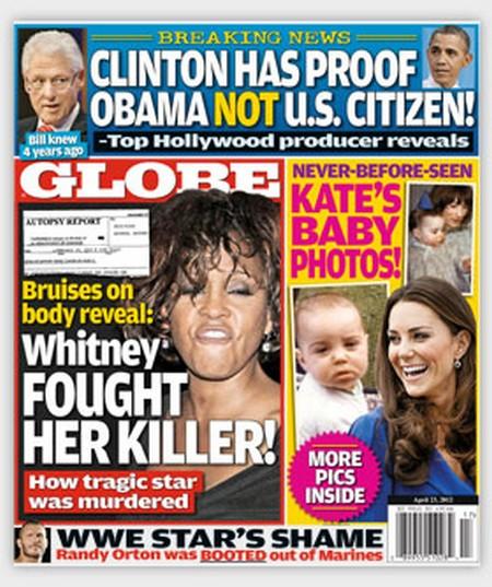 Globe: Brave Whitney Houston's Desperate Battle With Her Killer
