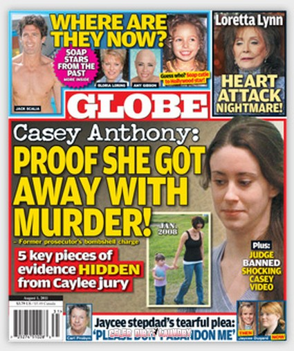 Globe Magazine: Casey Anthony: Proof She Got Away With Murder