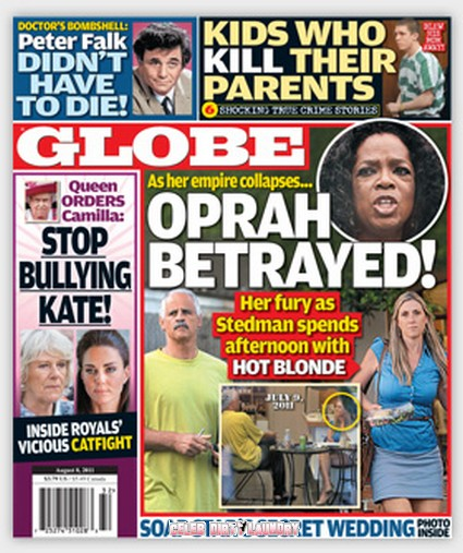 Globe: Oprah Devastated by Beau