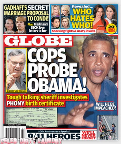 Globe: Obama Targeted in Police Probe - Photo