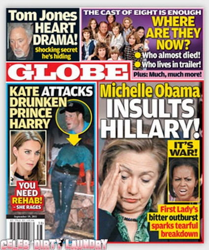 Globe: Michelle Obama's Insults Drive Hillary Clinton to Collapse