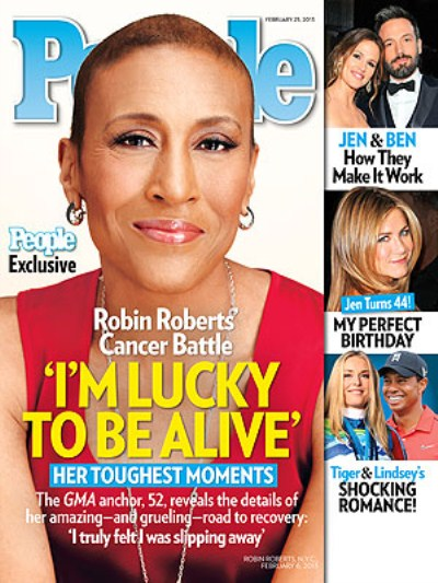 Good Morning America's Robin Roberts Talks Her Fight With Cancer