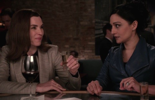Archie Panjabi Confirms Julianna Margulies is The Good Wife Enemy: Refused To Shoot Final Scene Together