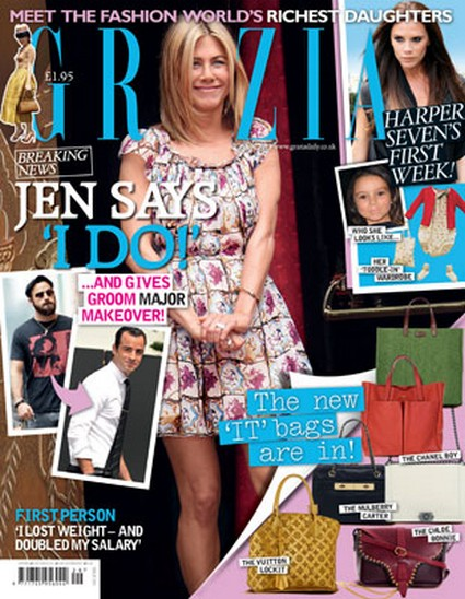 Grazia Magazine: Jennifer Aniston Says 'I Do' (Photo)