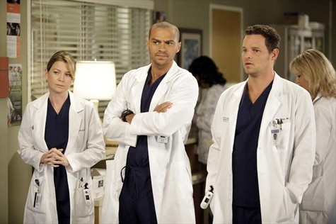 ELLEN POMPEO, JESSE WILLIAMS, JUSTIN CHAMBERS