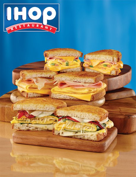 IHOP Introduces 3 New Delicious Breakfast Melts: Which One Has Your Name On It?