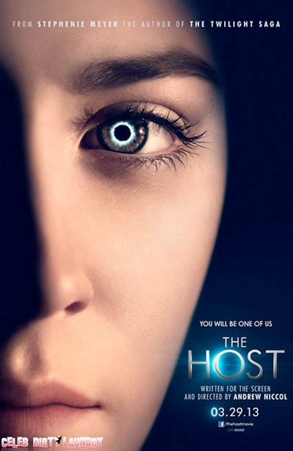 First Look - Poster For Stephenie Meyer's Twilight Follow Up The Host (Photo)