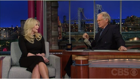 Chelsea Handler Slams David Letterman – On His Own Show!