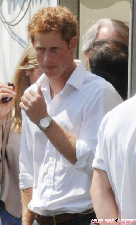 Prince Harry's Girlfriend Cressida Bonas Hasn't Dumped Him - Yet