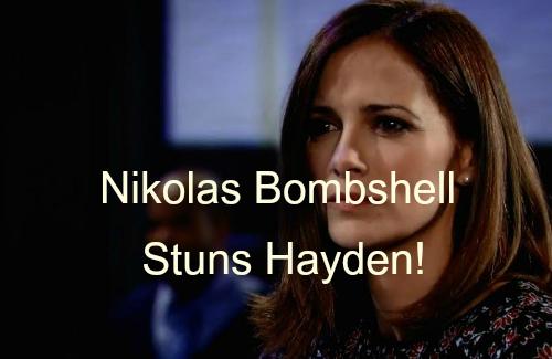 'General Hospital' Spoilers: Hayden Finds Startling Connection Between Nikolas and Raymond Berlin