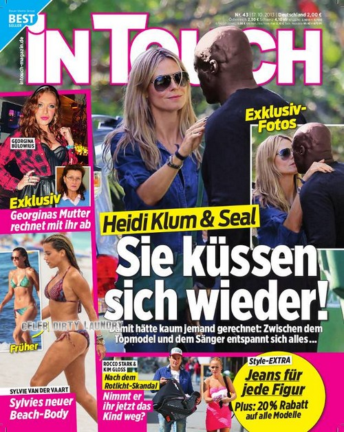 Heidi Klum And Seal Get Back Together - She Dumps Bodyguard (PHOTO)