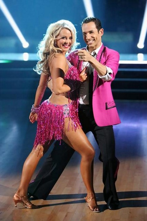 Helio Castroneves Dancing With the Stars All-Stars Quickstep Performance Video 10/8/12