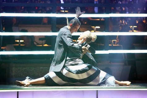 Helio Castroneves Eliminated From Dancing With The Stars All-Stars 10/9/12 (Video)