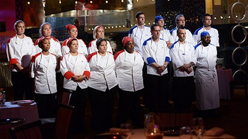 Hell s kitchen recap 4 9 13 season 11 episode 6 16 chefs for Watch hell s kitchen season 16